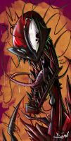 Cartoon Carnage by Domax-art