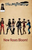 The Night Rose 4 Cover Preview by TRAGICHEROINESCOMICS