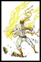 Iron Fist: White Variant by pyroglyphics1