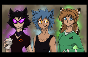 Mordern Werewolves Band by CoffeeAddictedDragon