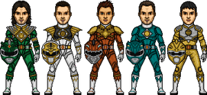 MMPR OCs by SpiderTrekfan616