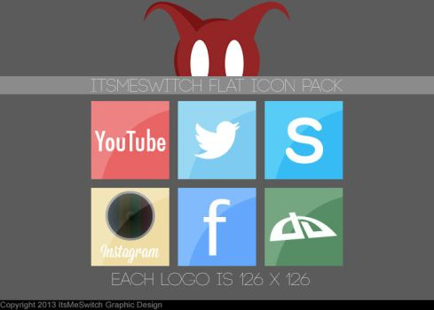 Social Media Logo pack by ItsMeSwitch
