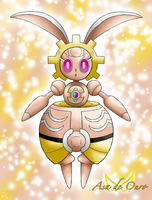 Shiny Magearna by LudiculousPegasus