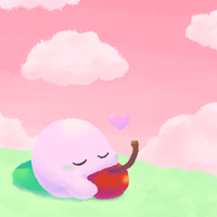 Kirby Challenge 17 - Spray Paint by Chenanigans