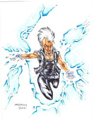 Storm Sketch by MarkStegbauer