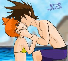 Egoshipping Poolside Delight by LiliNeko