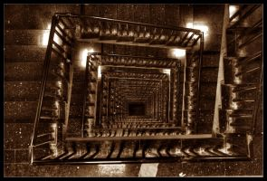 Stairway to Hell II by CanvasOfLight