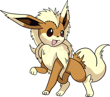 Fakemon - Eeveeon by Tails19950