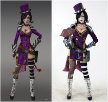 Borderlands 2 - Mad Moxxi (Character vs Cosplay ) by DariaRooz
