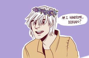 Am I handsome, Dorian? by 5liss