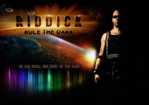 Riddick Rule the Dark Contest 2 by tellan07