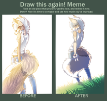 Draw This Again Meme by Keesness