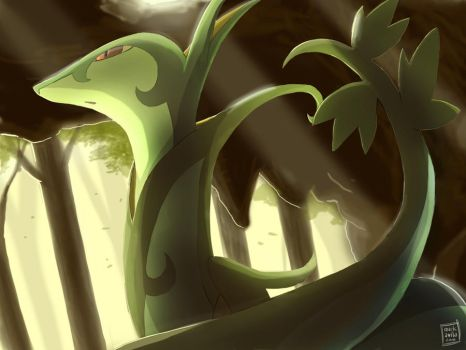 Pokemon: Serperior by mark331