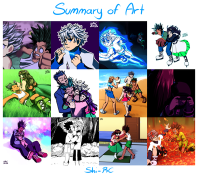2015 art summary by Shi-RC