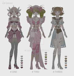 Adoptables001 (CLOSED) by Lierxi