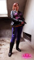 Claire Redfield Cosplay - N64 bonus costume by ChaoticClaire