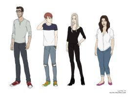 Wilde Life - Chapter 5 Outfits by Lepas