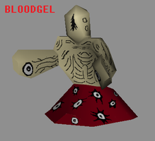 bloodgel - front by cicadamarionette