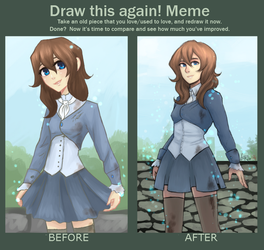 Draw this again meme: Szils by lady-largo