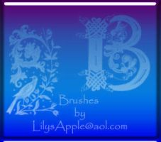 21 Celtic Deco PS brushes by LilysApple
