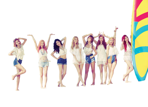 SNSD Party render 2 by dyloveskpop