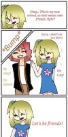 Nalu as Kids Comic by ZombieWolfPlays
