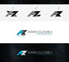 new formal logo for me AZ by ahmedelzahra