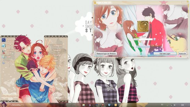 [Theme Win7] Hirunaka No Ryuusei by MithxOfSS501