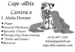 Cape-Able Canines by Megumiinelite