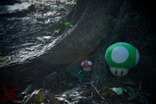 1UP and Life Growing by lawsae