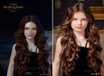nessie cullen teaser poster BD PART 2 comparison by loreley25