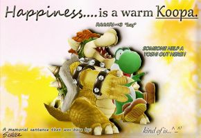 Happiness is a warm koopa - sort of... ^_^' by IceLucario20xx