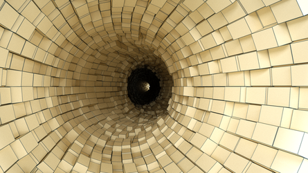 TUNNEL-VISION No. 1. by Ingostan