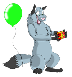 happy birthday TheRainyWolf by ripple09