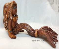 Slightly Steampunk'd Mermaid by MarilynMorrison