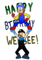 Happy Birthday Weegee!!! by cjc728