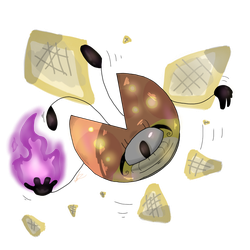 [OC/AF] Mysterious Pie by PixelKirby340