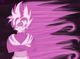 Super saiyan Rose by landedasteroid9