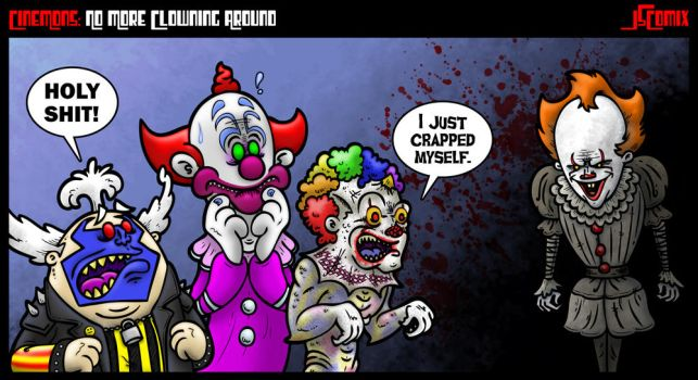 CineMons: No More Clowning Around by JSComix