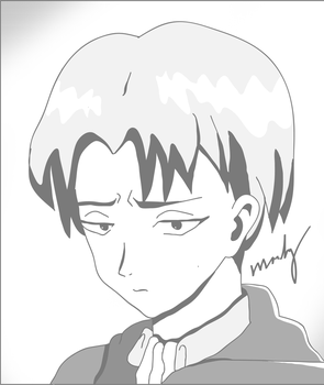 Drawing of Levi by AutumnTatum