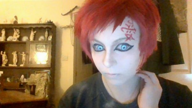 Gaara make up test by everlasting-cosplay