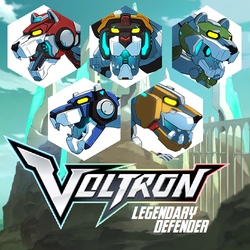 Voltron Defenders by HonorableBaldy
