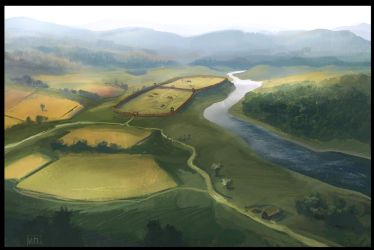 Great Moravia concept art by flyingjefferson