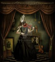 The little musician by CindysArt