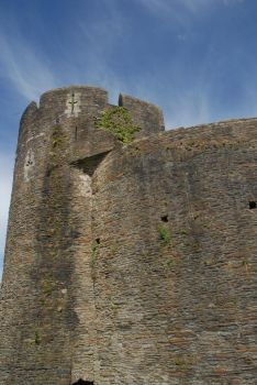 caerphilly castle 36 by TomatoSource
