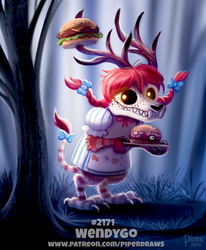 Daily Paint 2171. Wendygo by Cryptid-Creations
