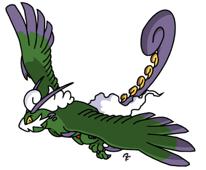 641 Tornadus Sacred Beast Forme a by aschefield101