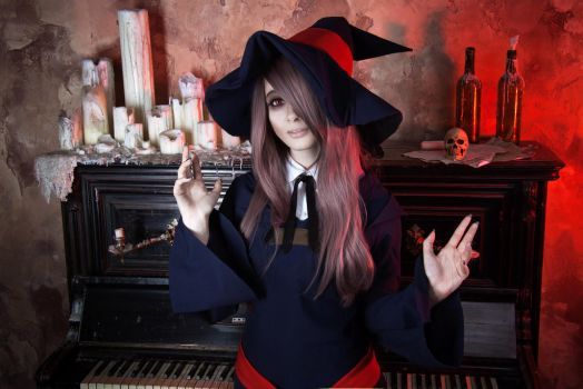 Little Witch Academia: Sucy Manbavaran cosplay by AmaneMiss
