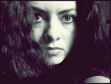 another bw portrait by contesa
