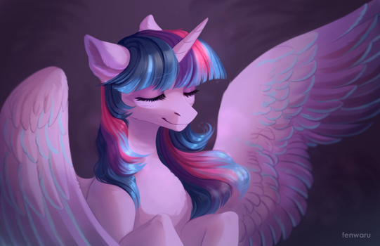 Twilight Sparkle by Fenwaru